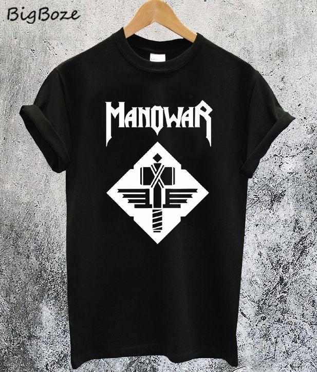 506163bbb876 Manowar Sign Of The Hammer T-Shirt
