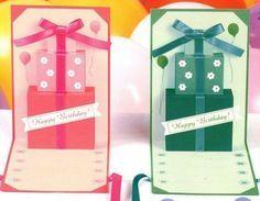 Поздравительная открытка своими руками - подарки на День Рождения