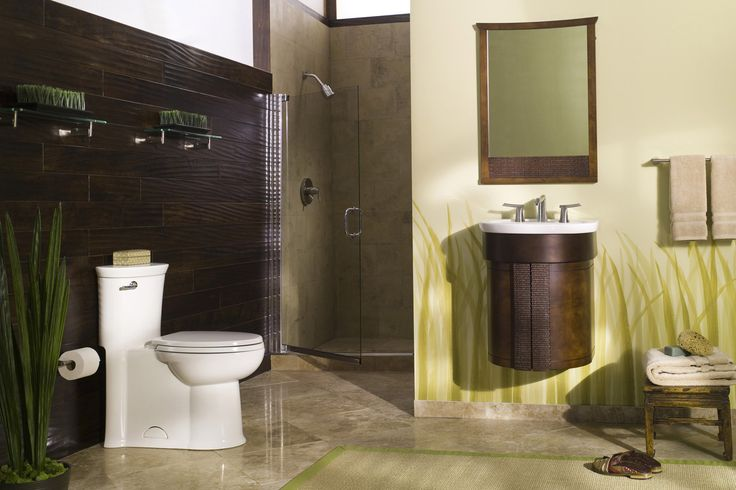 Make your bathroom an oasis with American Standard's Tropic Bathroom Collection on Build.com
