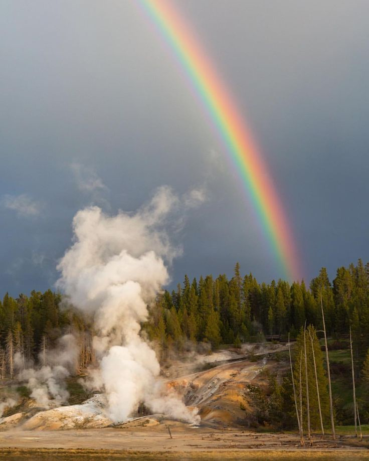 On this day 145 years ago, the world's first national park, Yellowstone #NationalPark ( @yellowstonenps ) was created. For anyone who has visited this incredible land of fire and ice and marveled at the amazing wildlife and unique geologic features, there's little doubt why #Yellowstone is considered one of our nation's greatest treasures. Photo courtesy of Michael Hardridge (@michaelhardridge). #findyourpark #usinterior
