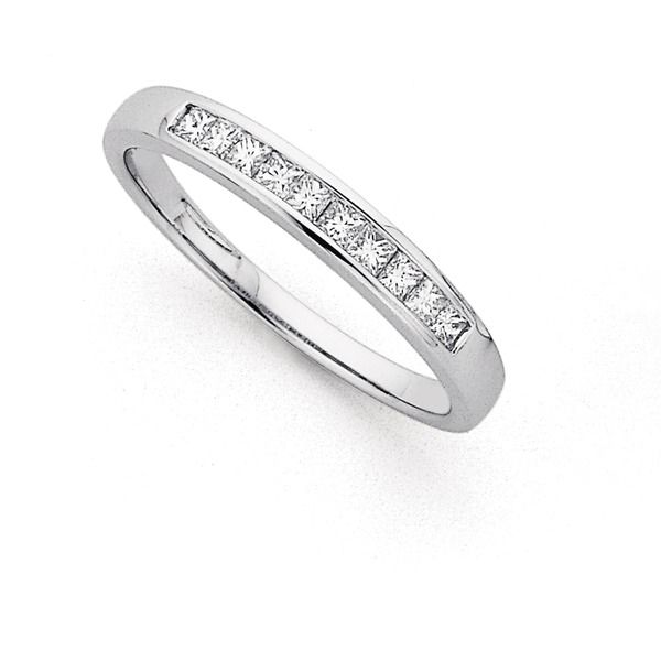 9ct, Diamond Eternity Ring Total Diamond Weight=.26ct | Pascoes The Jewellers