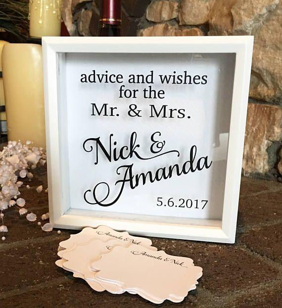 Best 25 Wedding Advice Box Ideas Only On Pinterest