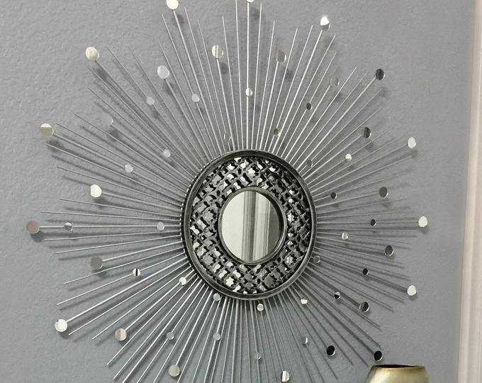 30 Sparkle Sunburst Mirror Gems Sunburst Mirror Starburst Mirror Mirror Wall Decor Sun Mirror Gold Sunburst Mirror Home Decor Sunburst Mirror Starburst Mirror Gold Sunburst Mirror
