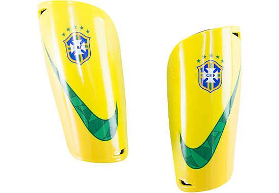 Nike Mercurial Lite Shin Guards  Brazil...get it at www.soccerpro.com