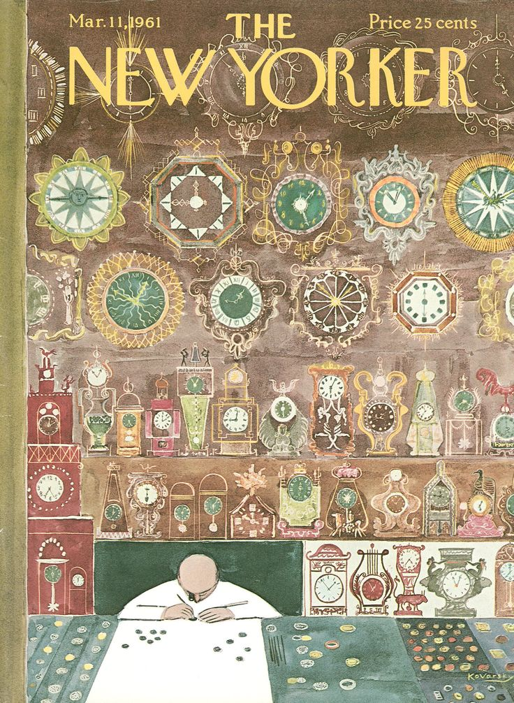 The New Yorker - Saturday, March 11, 1961 - Issue # 1882 - Vol. 37 - N° 4 - Cover by : Anatol Kovarsky