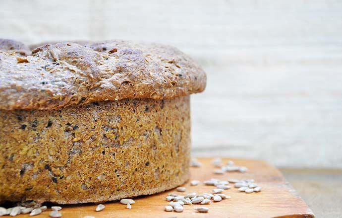 Gluten-Free Rustic Bread Paine rustica fara gluten cu seminte