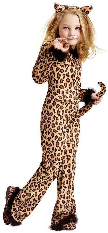 Pin for Later: 169 Warm Halloween Costume Ideas That Won't Leave Your Kids Freezing Pretty Leopard Costume Pretty Leopard Costume ($45)