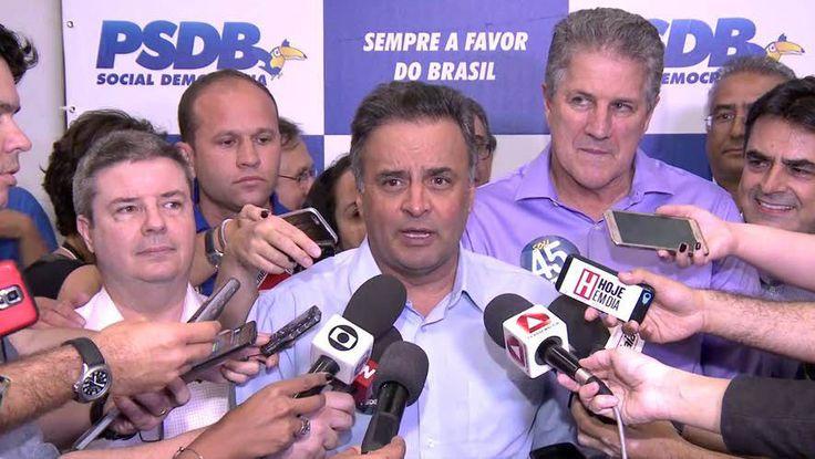 URGENTE: Aécio Neves exige a cabeça de Meirelles e quer PSDB comandando economia do governo Temer; CONFIRA!   Click Política