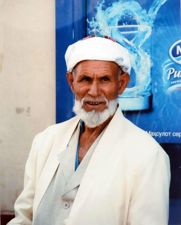Anciano en Samarkanda.