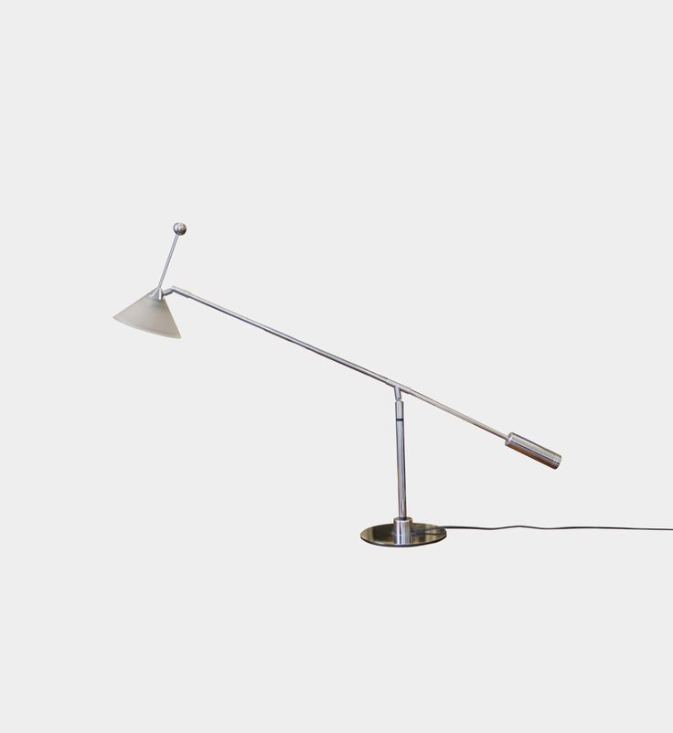 Desk lamp, 1980s/1990s  #forform #lamp #chrom