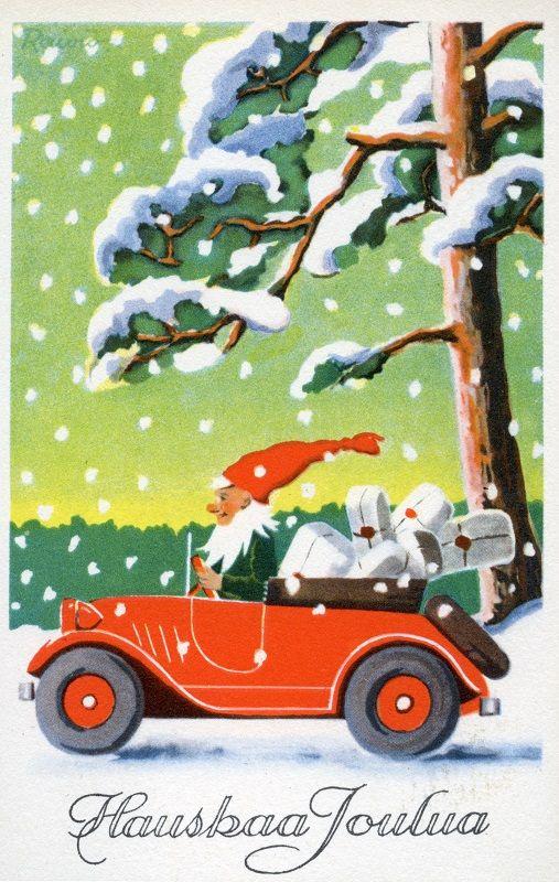 Hauskaa Joulua! #joulupukki #Christmascards