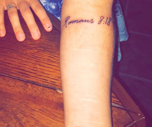 """""""The pain you've been feeling can't compare to the joy that's coming"""" Romans 8:18"""