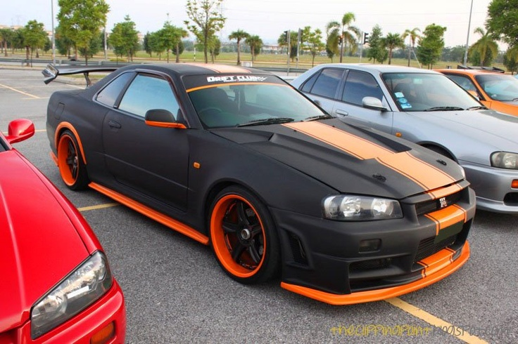 GTR 34 Need for Speed Edition  My Skyline Collection  Pinterest