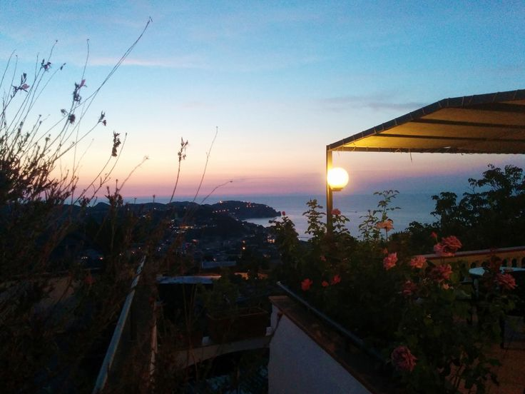 Evening lights at Hotel Ape Regina #ischia #iloveischia