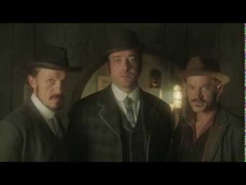 Ripper Street Series 2 - Behind the Scenes. So funny...they're trying to do a serious pose, but serial-laugher Matthew has a constant struggle.