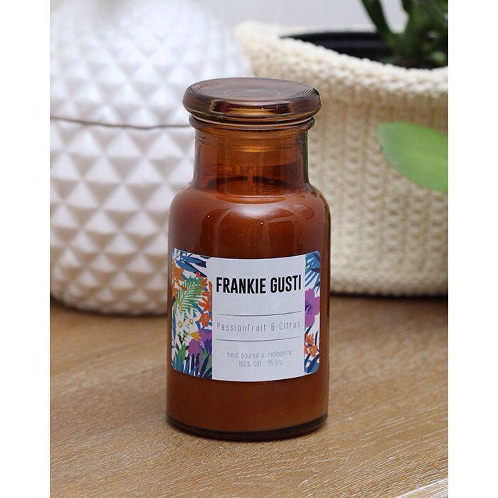 PASSIONFRUIT & CITRUS | New summer edition scent from @frankiegusti | Shop www.daisychainstore.com.au