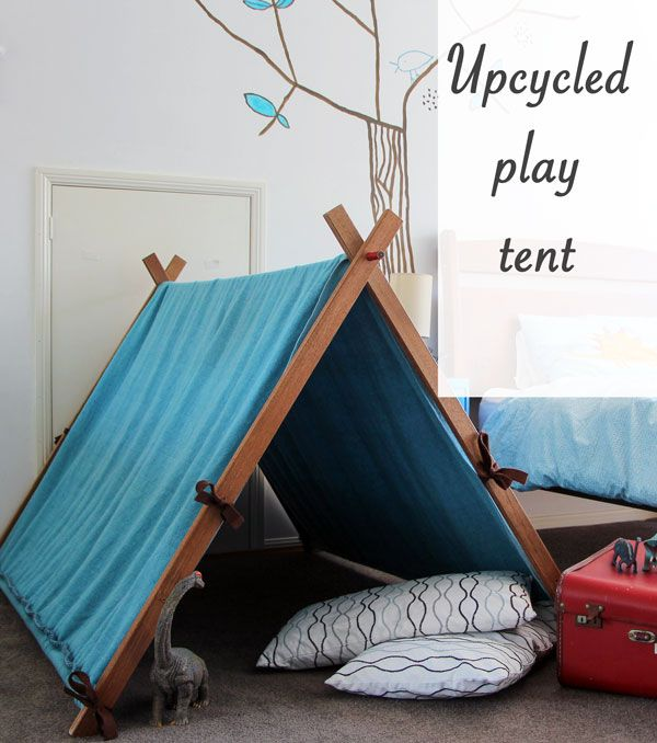 How to make a play tent | Blah Blah Magazine