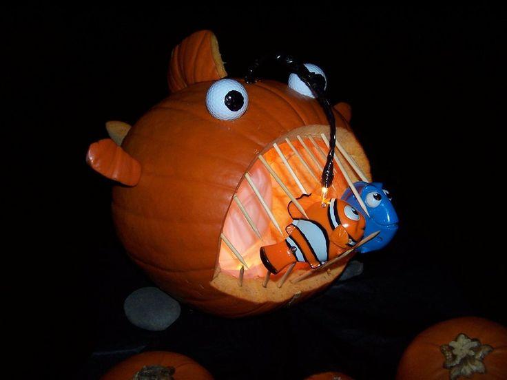 A finding nemo pumpkin by maddiebraginskyfan viantart