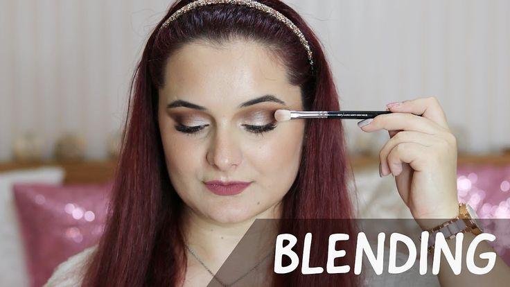 HOW TO BLEND ~ Cum estompam fardurile || Maria Dumitrescu