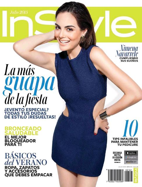 Ximena Navarrete (Miss Universe 2010 ) - Mexican edition InStyle Magazine (July)