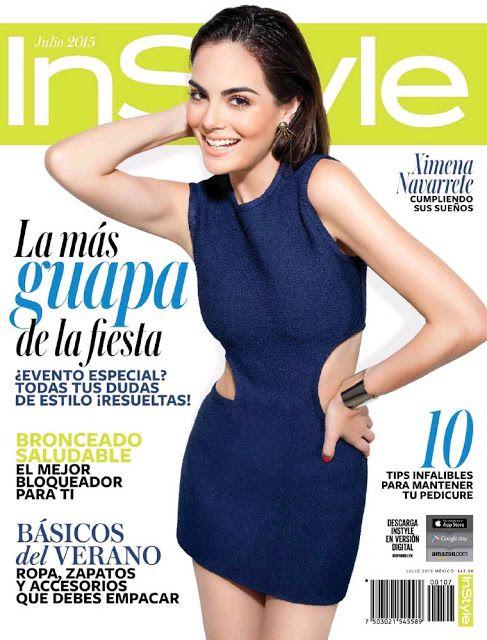 Ximena Navarrete (Miss Universe 2010 ) - Mexican edition InStyle Magazine (July)