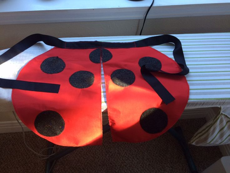 DIY Seven-Spotted Ladybug Costume - Part 1