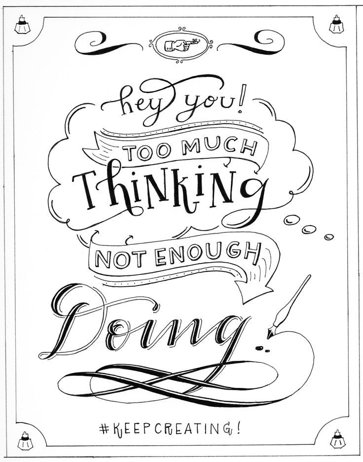 """hey you, too much thinking, not enough doing!!"" - torrie asai by Torrie Asai - Skillshare"