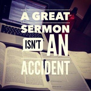 sermon writing tips