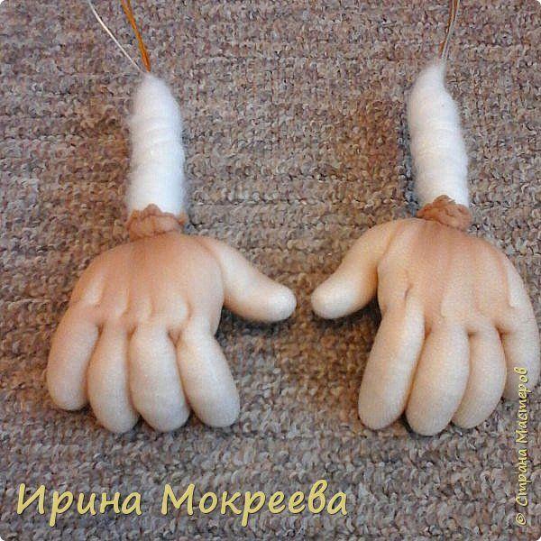 Добрый день жители страны мастеров хочу поделиться моим опытом по изготовлению ручек для капроновых кукол. фото 1
