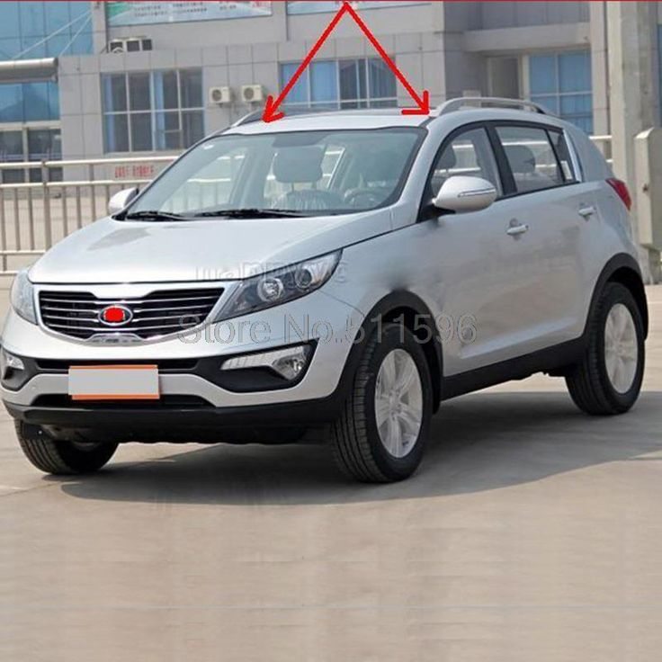 43.19$  Watch now - http://aliuyh.worldwells.pw/go.php?t=32689834649 - For Kia Sportage 2011-2014 Aluminum With Plastic Car Roof Rack Outdoor Rooftop Luggage Carrier Baggage Rack Holider Easy Install 43.19$