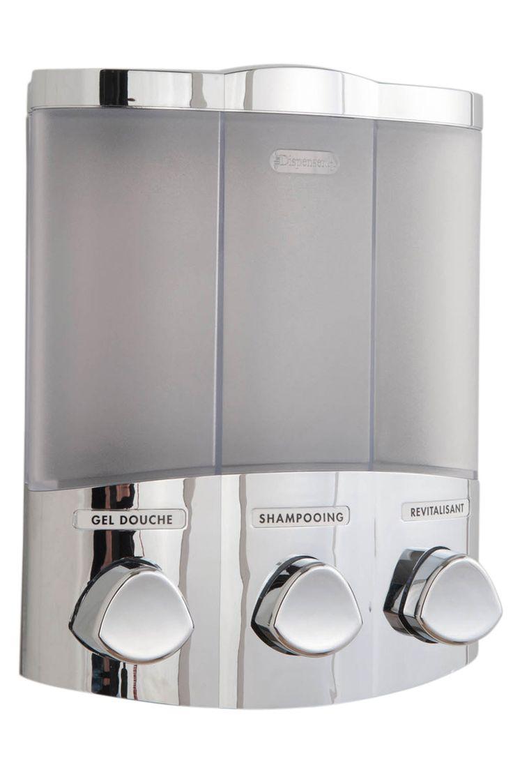 Venta Compactor / 21155 / Cocina y Baño / Baño / Dispensador de Jabón de Pared 3 x 420 ml - Cromado