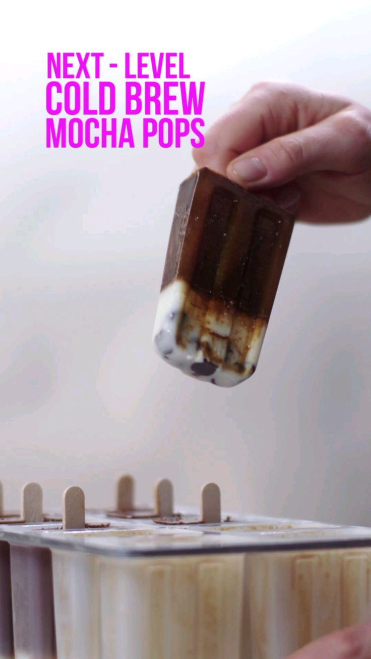 Next-Level: Cold Brew Mocha Pops