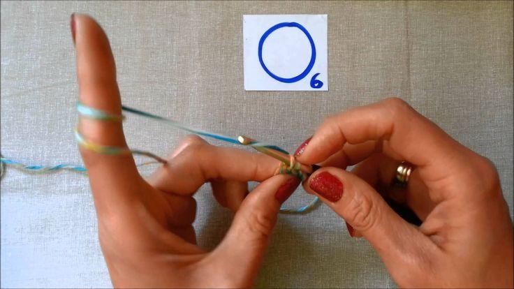 horgolás video tanfolyam 4. rész kezdő kör és kúszószem