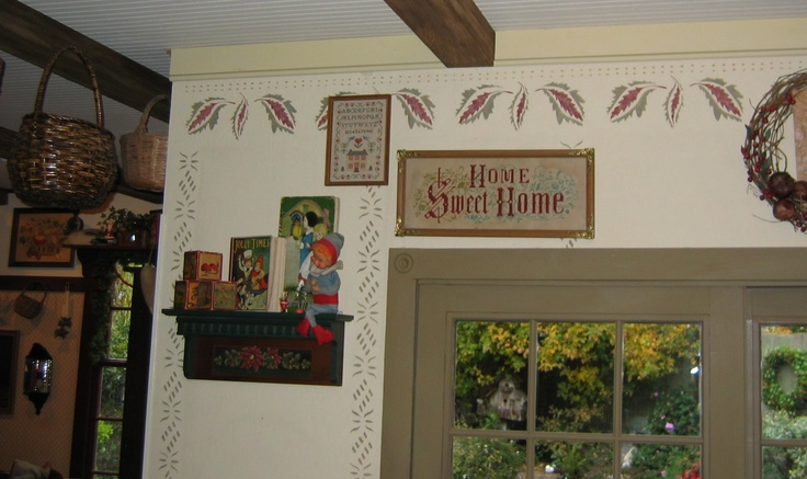 17 Best Images About Country Wall Stenciling On Pinterest