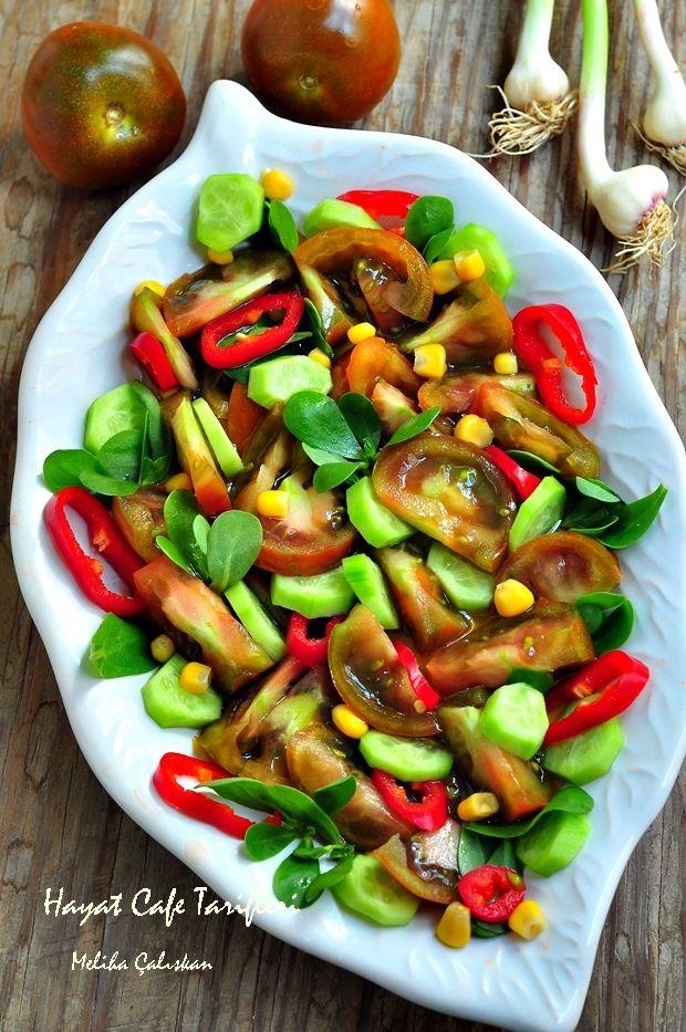 karışık salata malzemeleri