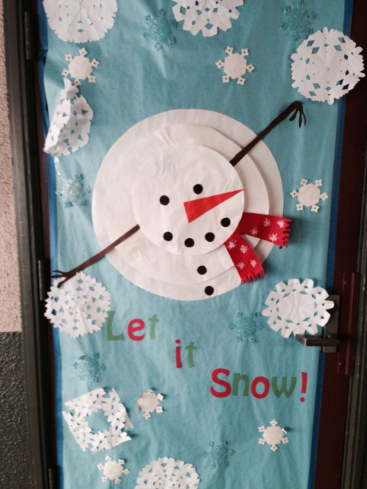Classroom Door Decoration Ideas For January : Classroom door decoration january pinterest