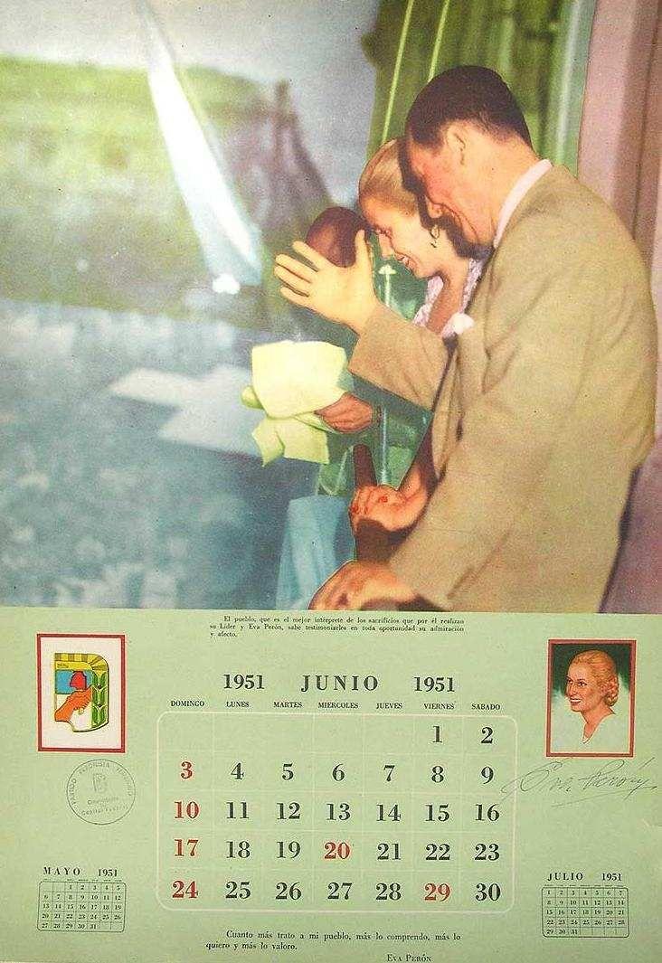 Calendario 1951.Calendario Peronista De 1951 Eva Baseball Cards