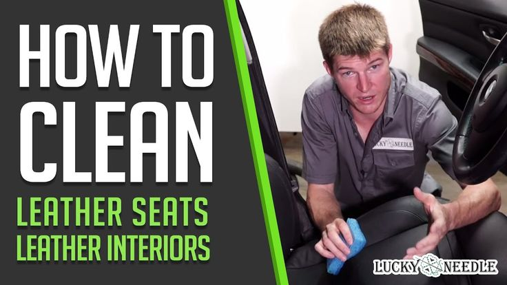 How to clean leather Seats / Leather interiors | Automotive upholstery