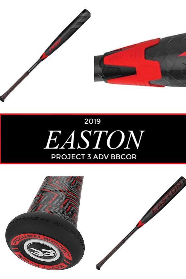 2019 Easton Project 3 Adv Bbcor Baseball Bat Review Bat Baseball Equipment Projects