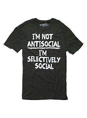 I'm picky. Deal with it. // Selectively Social T-Shirt