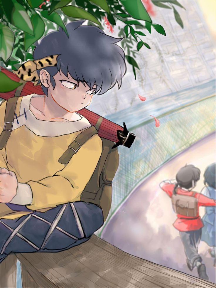 I don't ship Ryouga and Akane but I still feel bad.