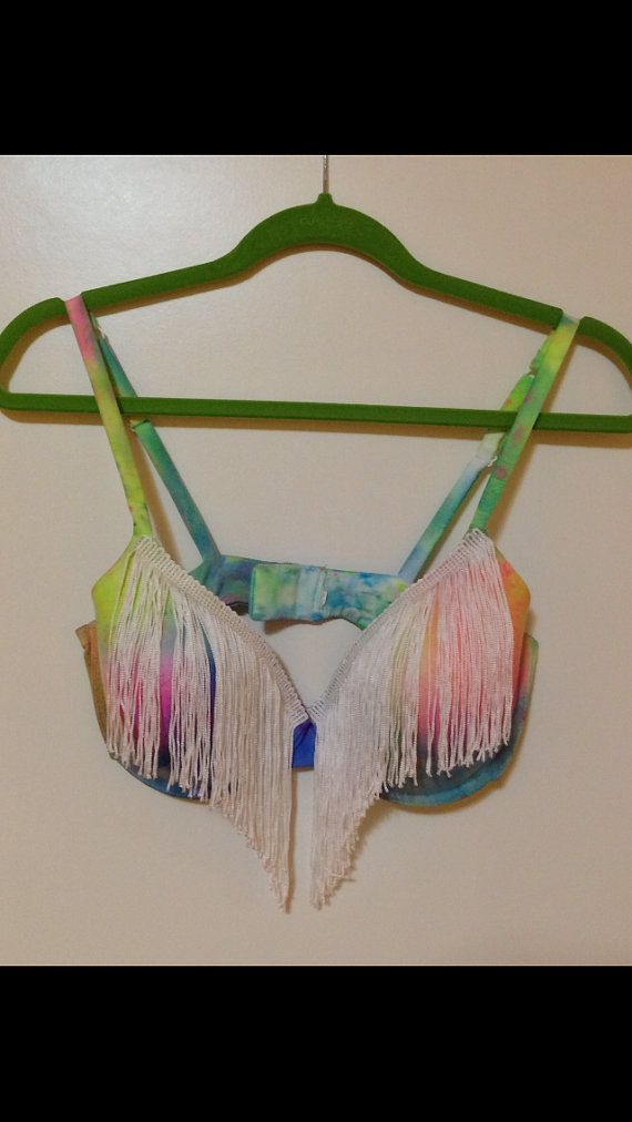 Hey, I found this really awesome Etsy listing at https://www.etsy.com/listing/152288306/rave-bra-tie-dye-fringe-rave-bra
