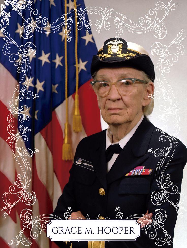Grace Murray Hopper foi uma analista de sistemas da Marinha dos Estados Unidos nas décadas de 1940 e 1950 e almirante. Foi ela quem criou a linguagem de programação Flow-Matic, hoje extinta. Esta linguagem serviu como base para a criação do COBOL.