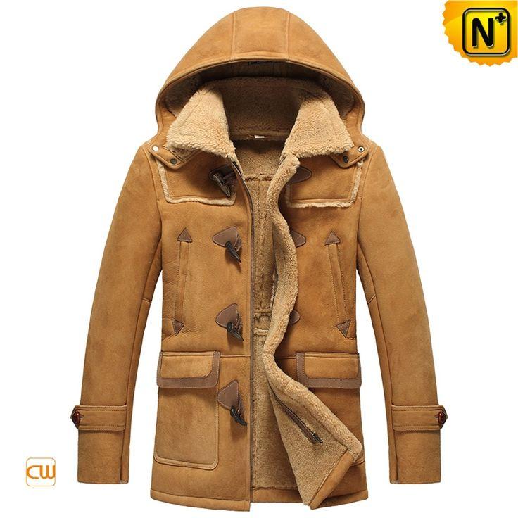 Sheepskin Shearling Jacket with Fur -1