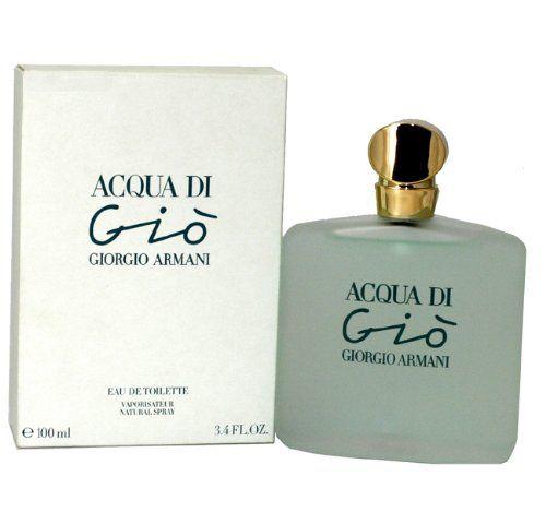 Acqua di Gio by Giorgio Armani for women Eau De Toilette Spray, 3.4 Ounces $76.99 (save $8.01)