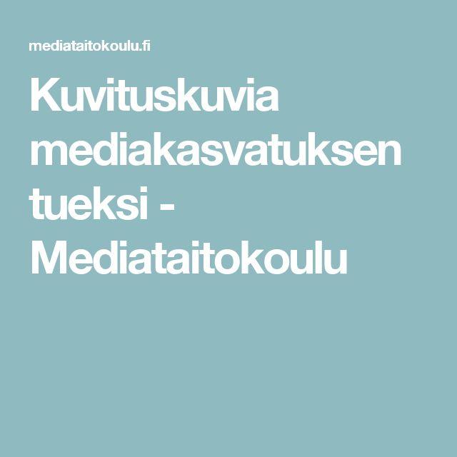 Kuvituskuvia mediakasvatuksen tueksi - Mediataitokoulu
