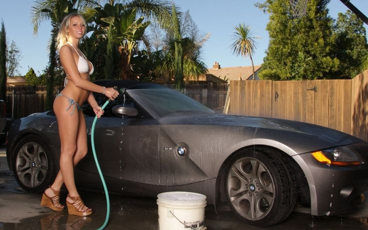 Hot Blonde Chick Takes Off Her Bikini While Washing Car In The Driveway Beeg Com 1