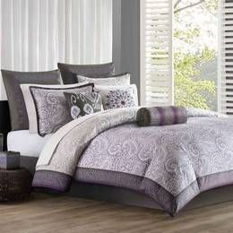 Plum Bedding, Plum Comforters, Comforter Sets, Bedding Sets & Bed In A Bag: The Home Decorating Company