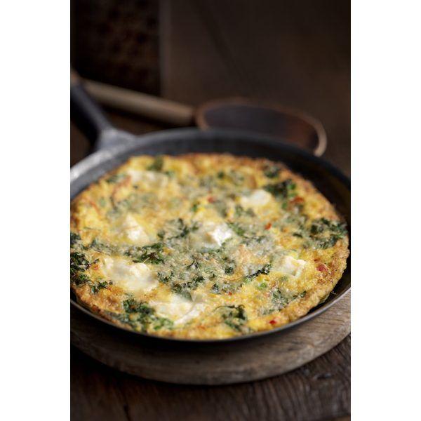 Omelette de espinacas-Los platos más deliciosos con menos de 300 calorías | eHow en Español