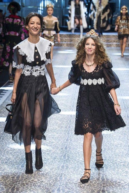 Милан: Dolce & Gabbana осень-зима 2017-2018: myfashion_diary